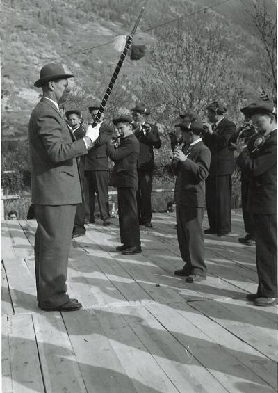 Stalden VS TPV Stalden Konzert 1955